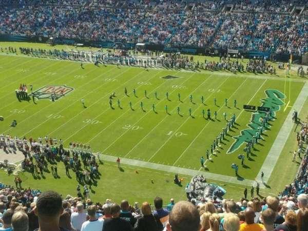 Bank of America Stadium, secção: 509
