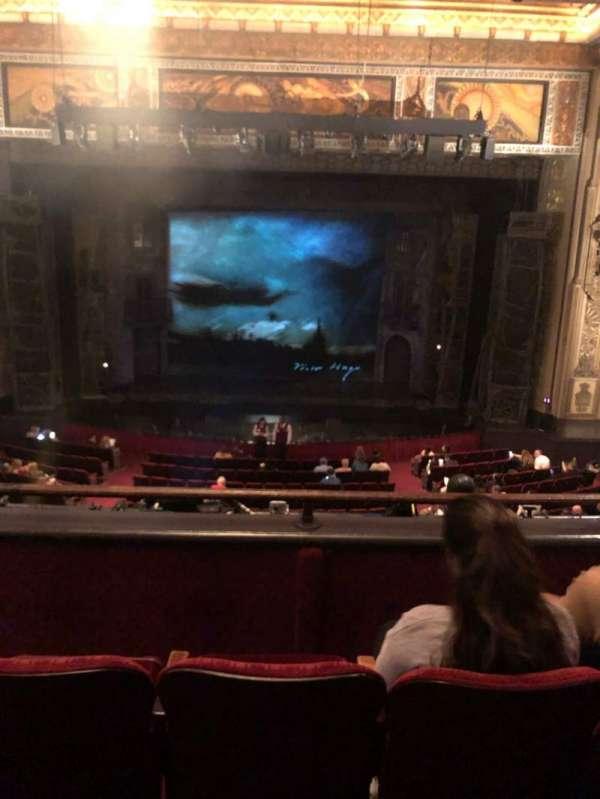 Hollywood Pantages Theatre, secção: Mezzanine C, fila: C, lugar: 106