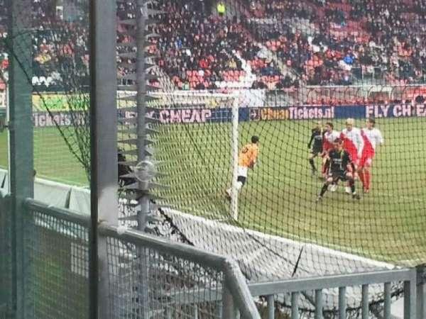 Stadion Galgenwaard, secção: vak-v, fila: 1, lugar: 6