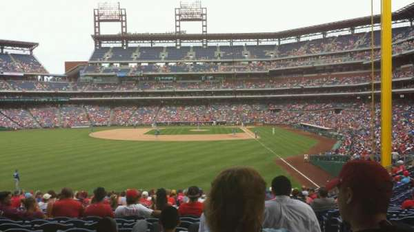 Citizens Bank Park, secção: 142, fila: 23, lugar: 2