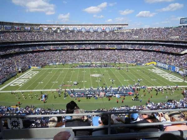 San Diego Stadium, secção: V36, fila: 6, lugar: 14