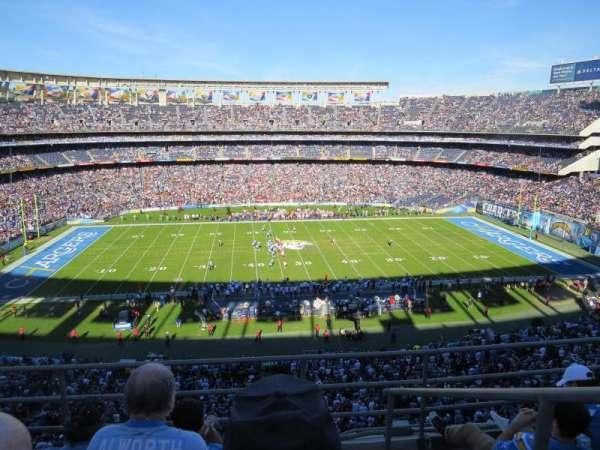 San Diego Stadium, secção: LV35, fila: 4, lugar: 18