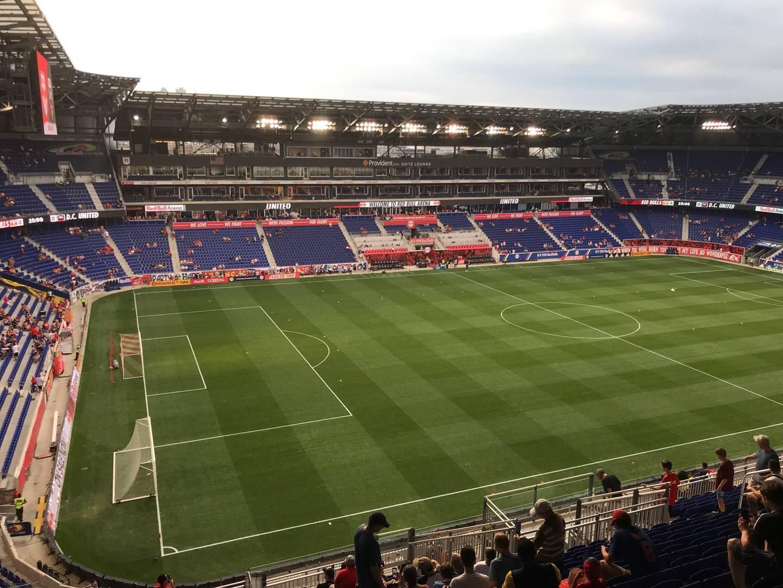 Red Bull Arena (New Jersey) Secção 229 Fila 20 Lugar 21