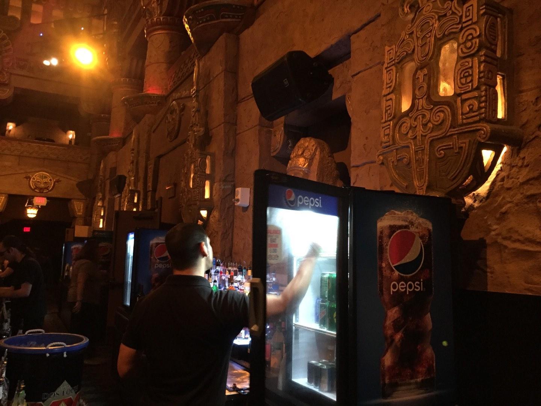 Aztec Theatre Secção Main Lobby bar