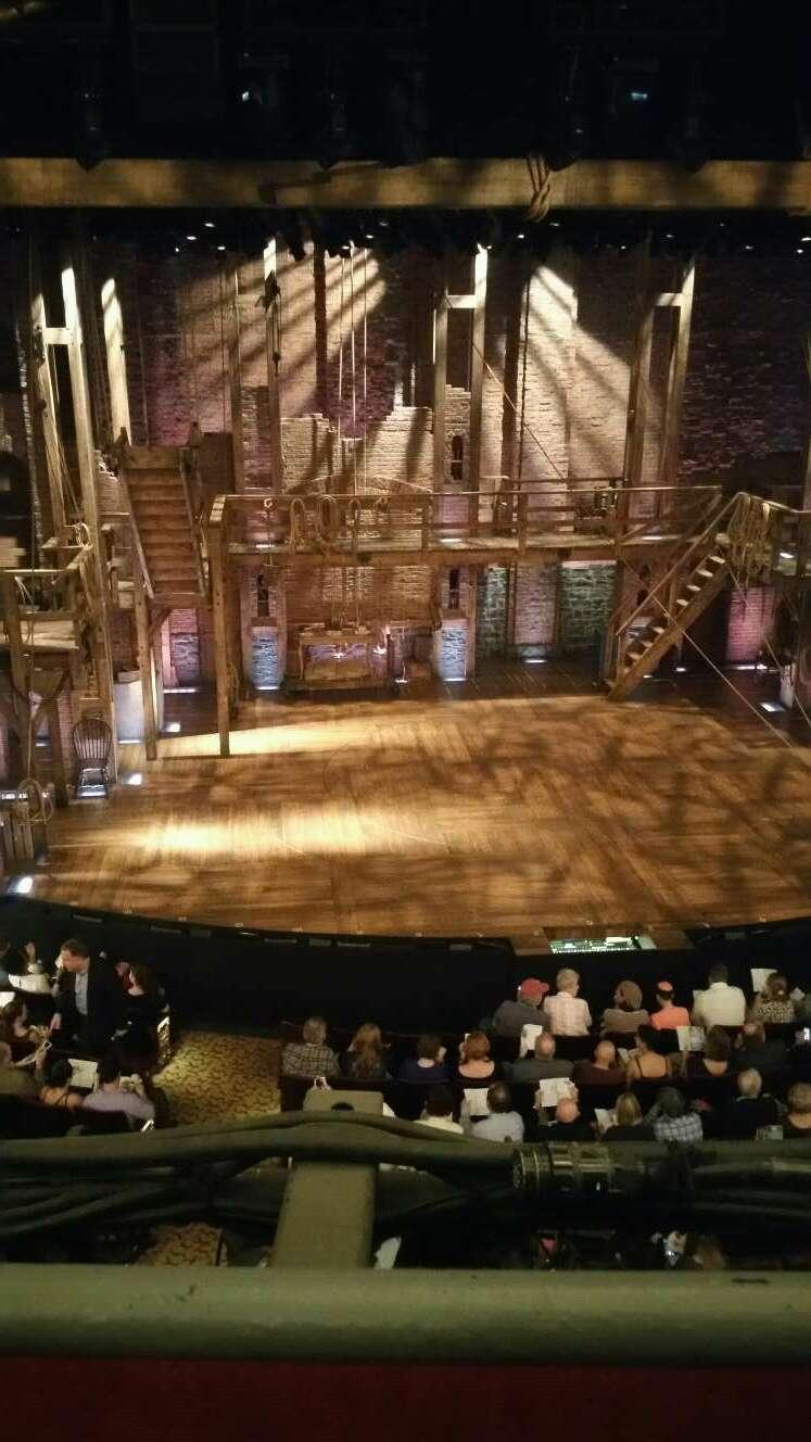 Richard Rodgers Theatre Secção Front Mezzanine C Fila A Lugar 114