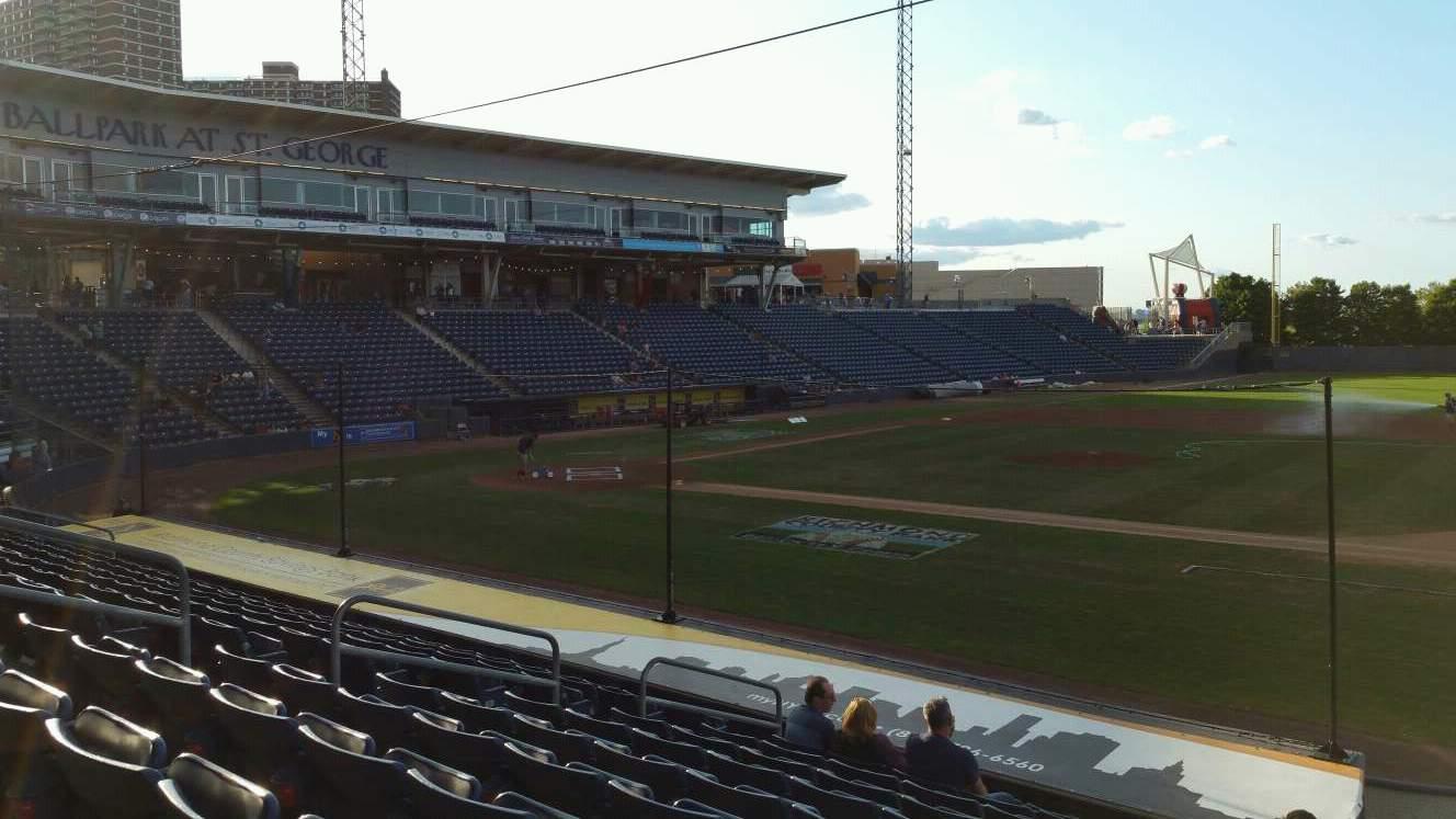 Richmond County Bank Ballpark Secção 13 Fila P Lugar 13
