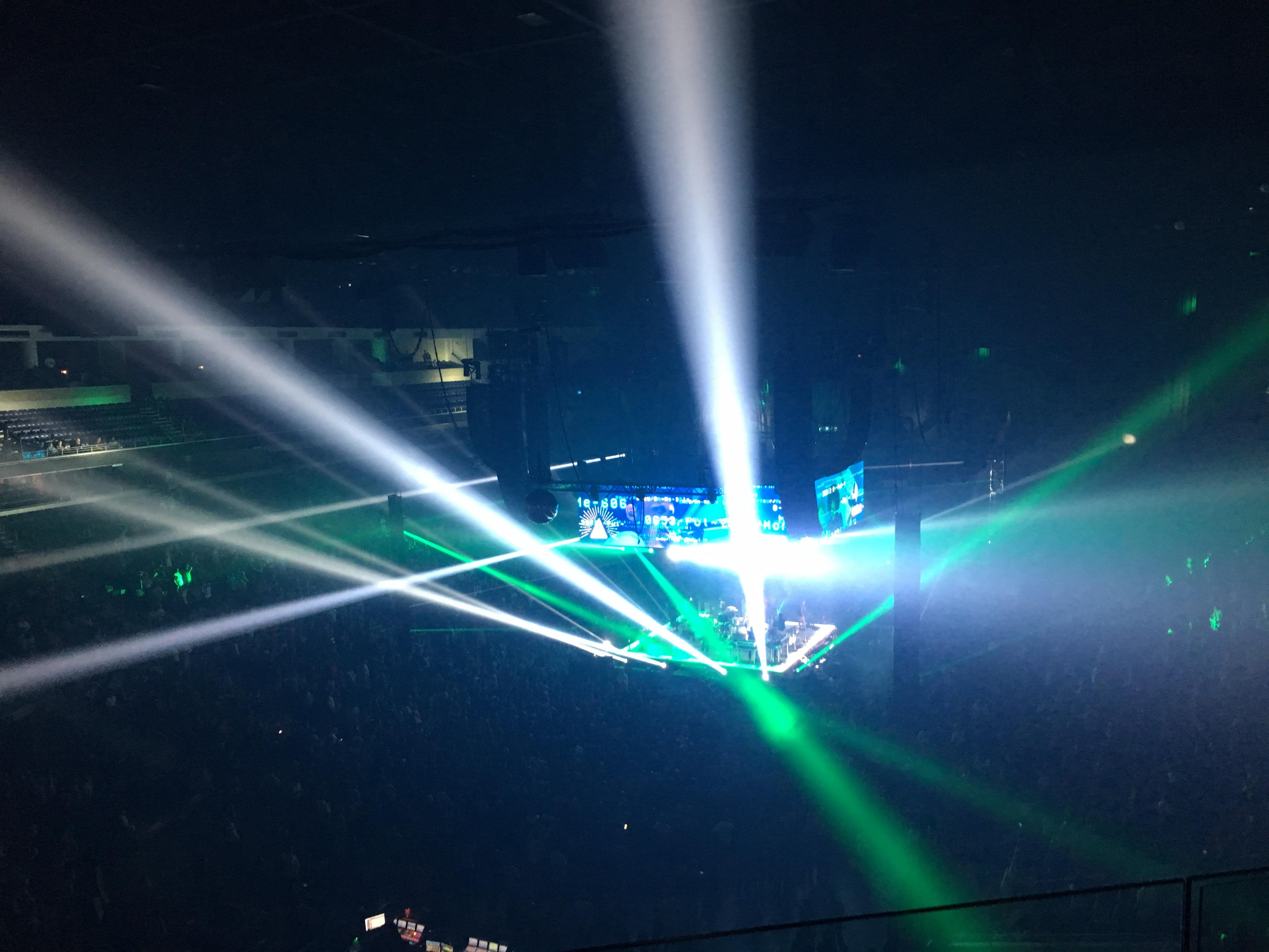 Infinite Energy Arena Secção 201 Fila C Lugar 18