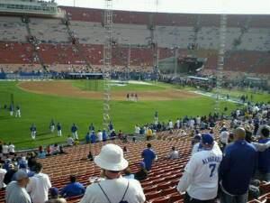 Los Angeles Memorial Coliseum Secção 226 Fila 25