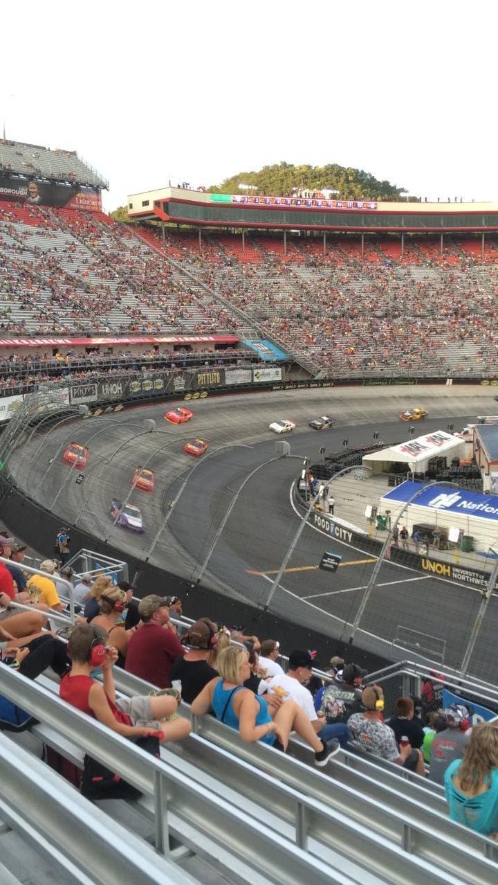 Bristol Motor Speedway Secção Richard Petty Fila 22 Lugar 4
