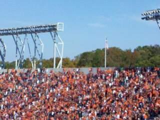 Lane Stadium Secção 503 Fila DD Lugar 23