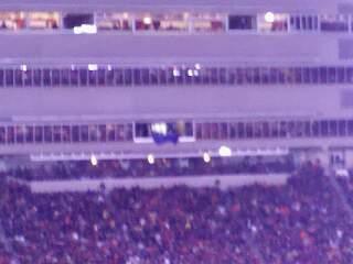 Lane Stadium Secção 37 Fila 4G Lugar 22