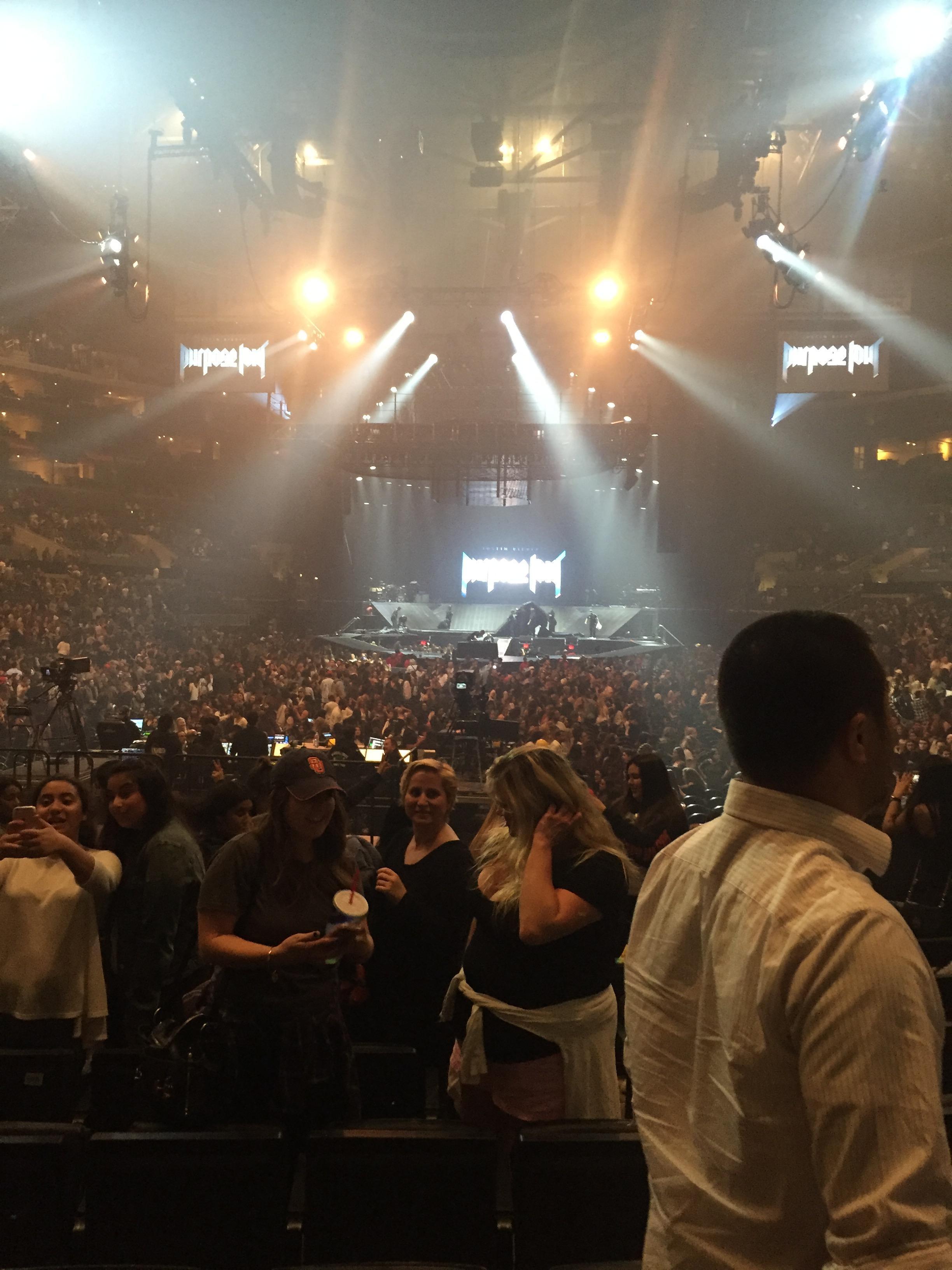 Staples Center Secção 106 Fila 12 Lugar 15