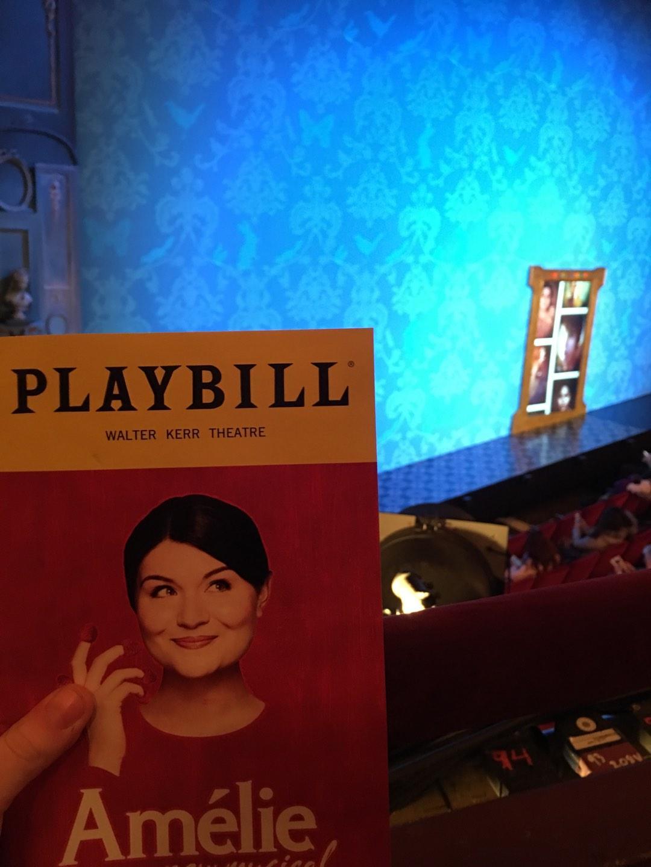 Walter Kerr Theatre Secção Mezzanine L Fila A Lugar 23