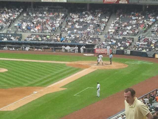 Yankee Stadium Secção 231 Fila 13 Lugar 2