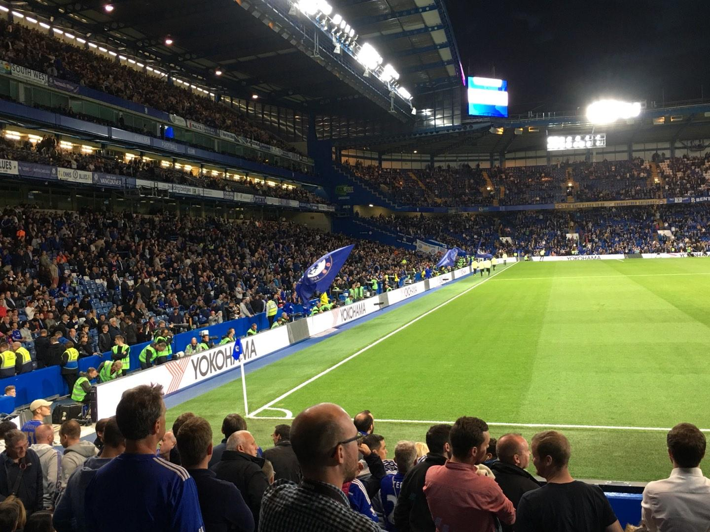 Stamford Bridge Secção Shed End Lower 6 Fila 13 Lugar 164