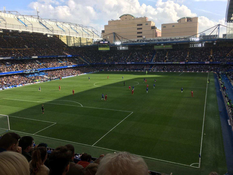 Stamford Bridge Secção Matthew Harding Upper 9 Fila G Lugar 317