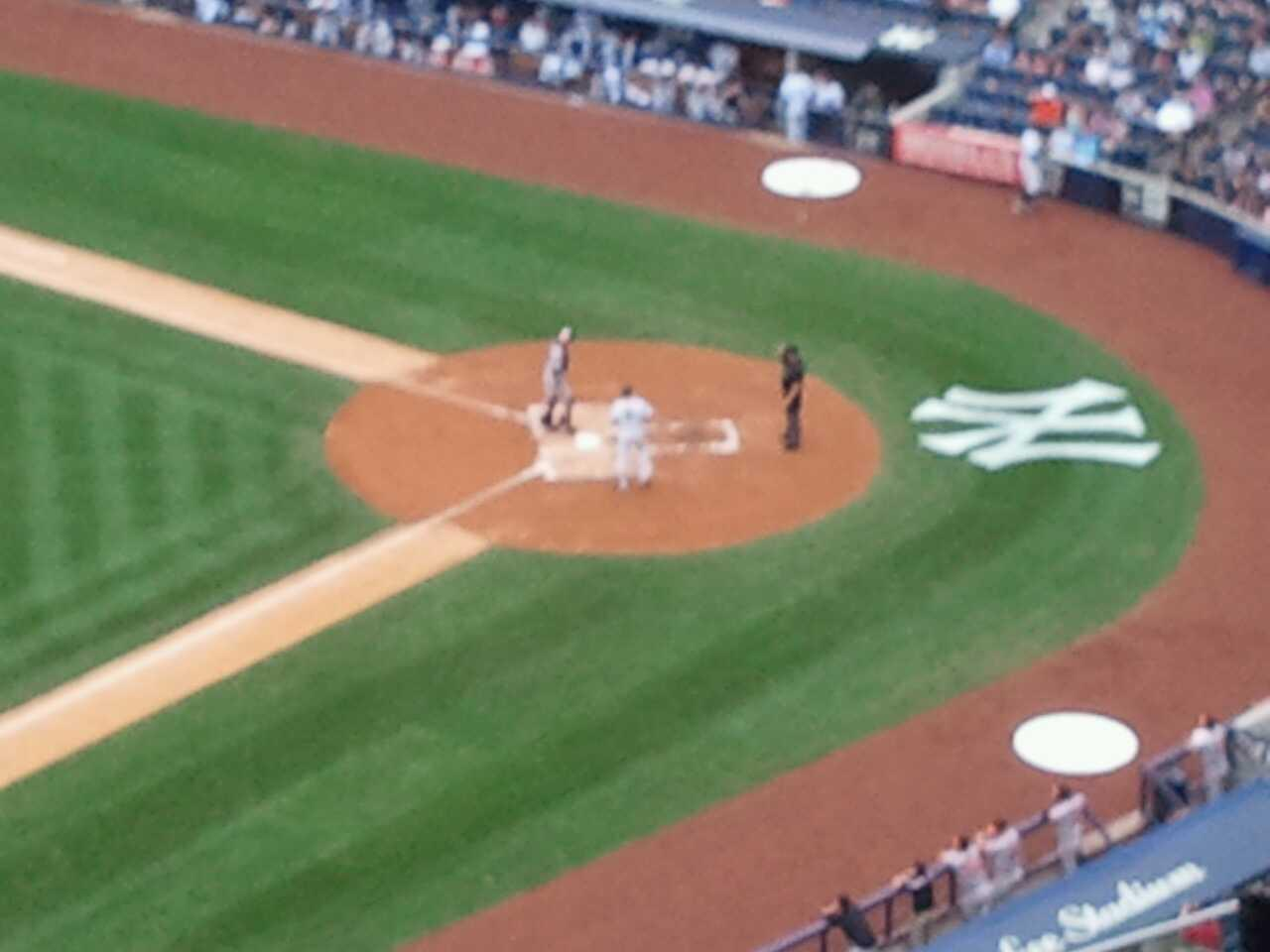 Yankee Stadium Secção 428 Fila 12 Lugar 6