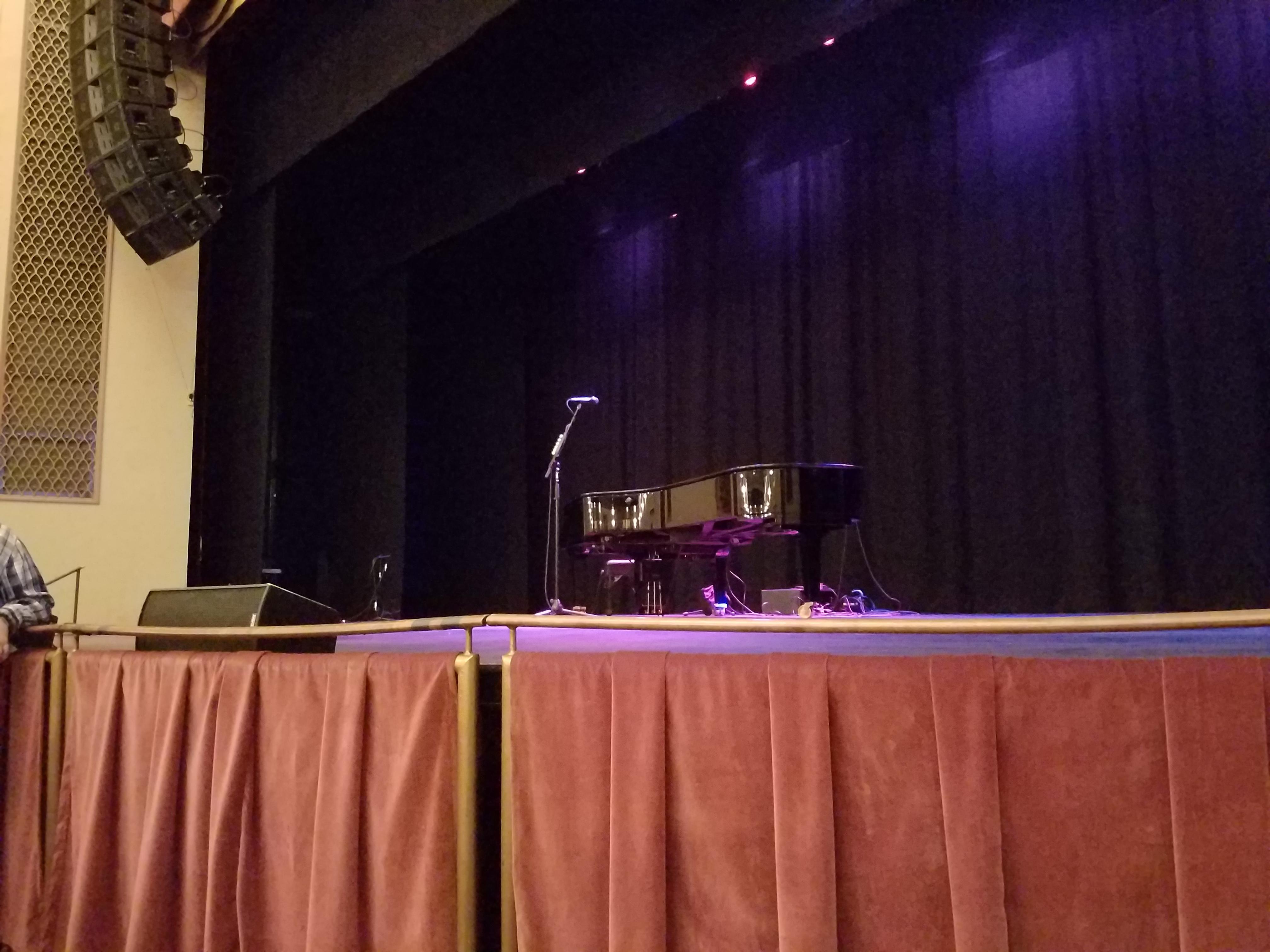 Strand-Capitol Performing Arts Center Secção Front Orchestra Fila B Lugar 6
