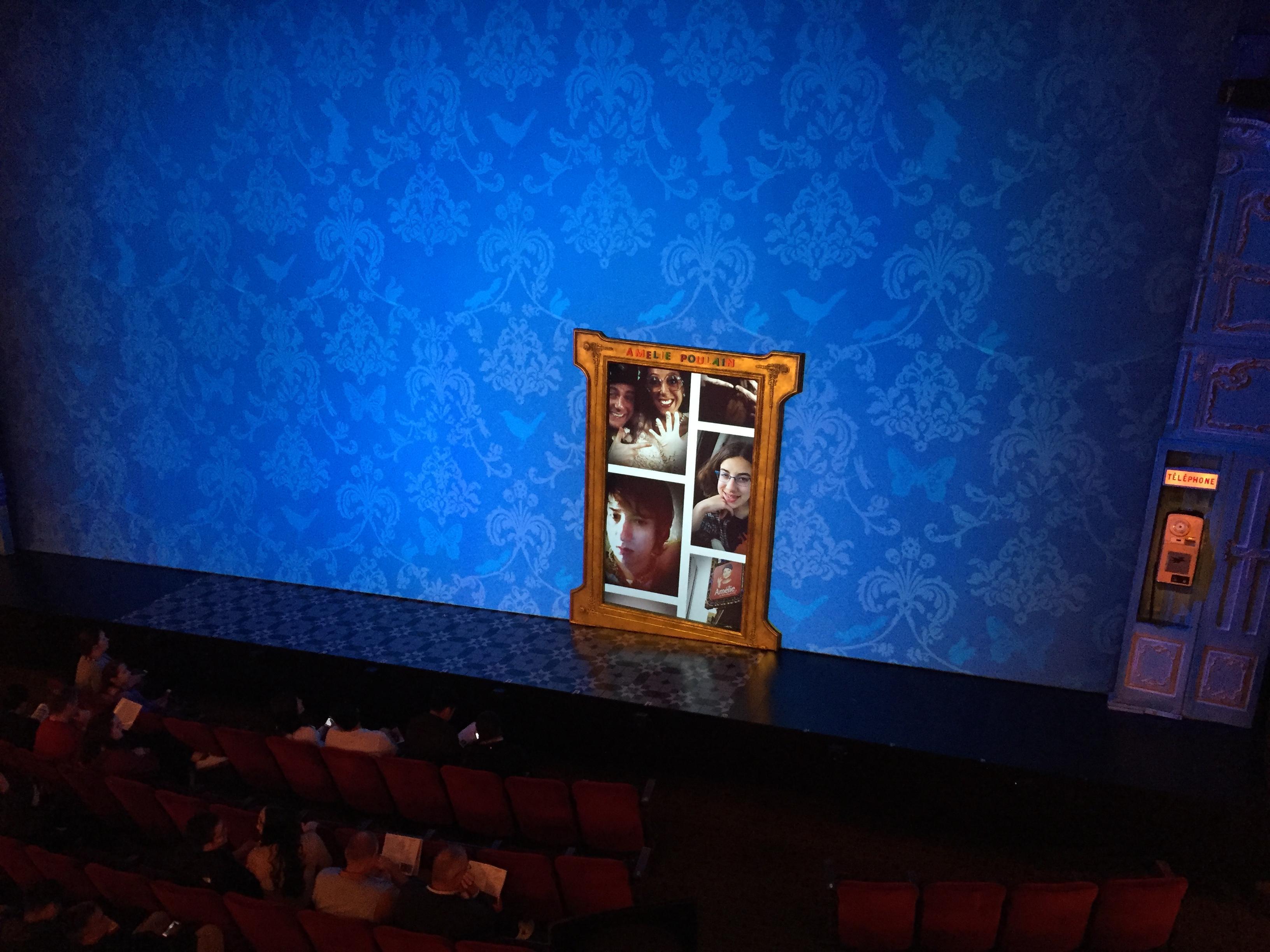 Walter Kerr Theatre Secção Mezzanine R Fila A Lugar 6