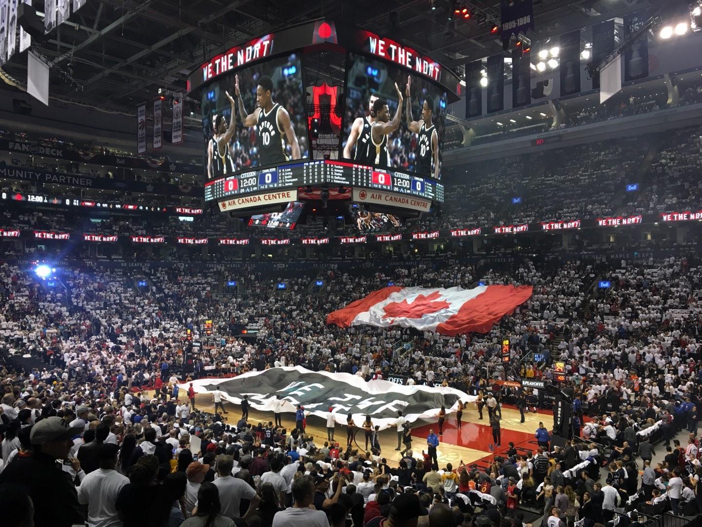 Scotiabank Arena Secção 106 Fila 21 Lugar 1