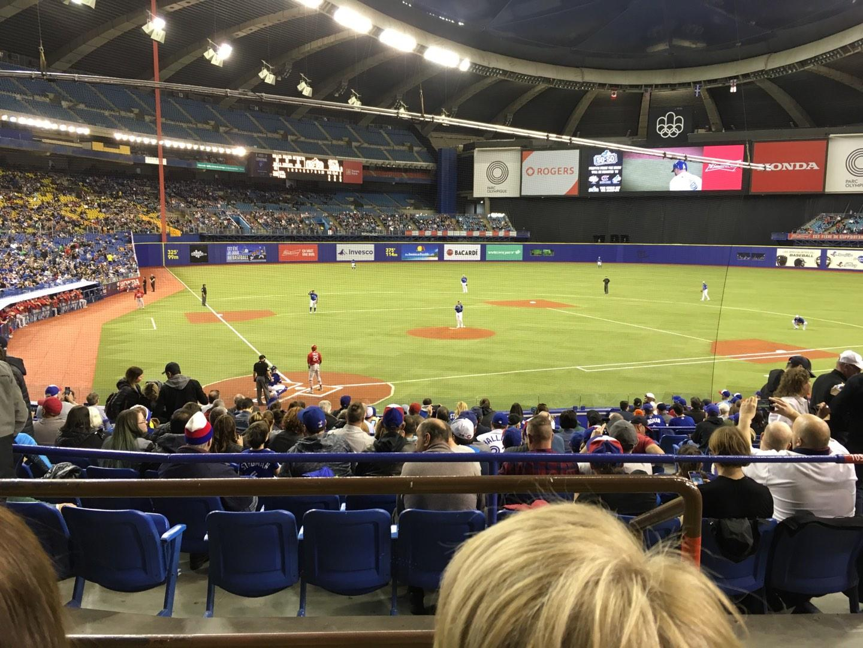 Olympic Stadium, Montreal Secção 103 Fila C Lugar 13
