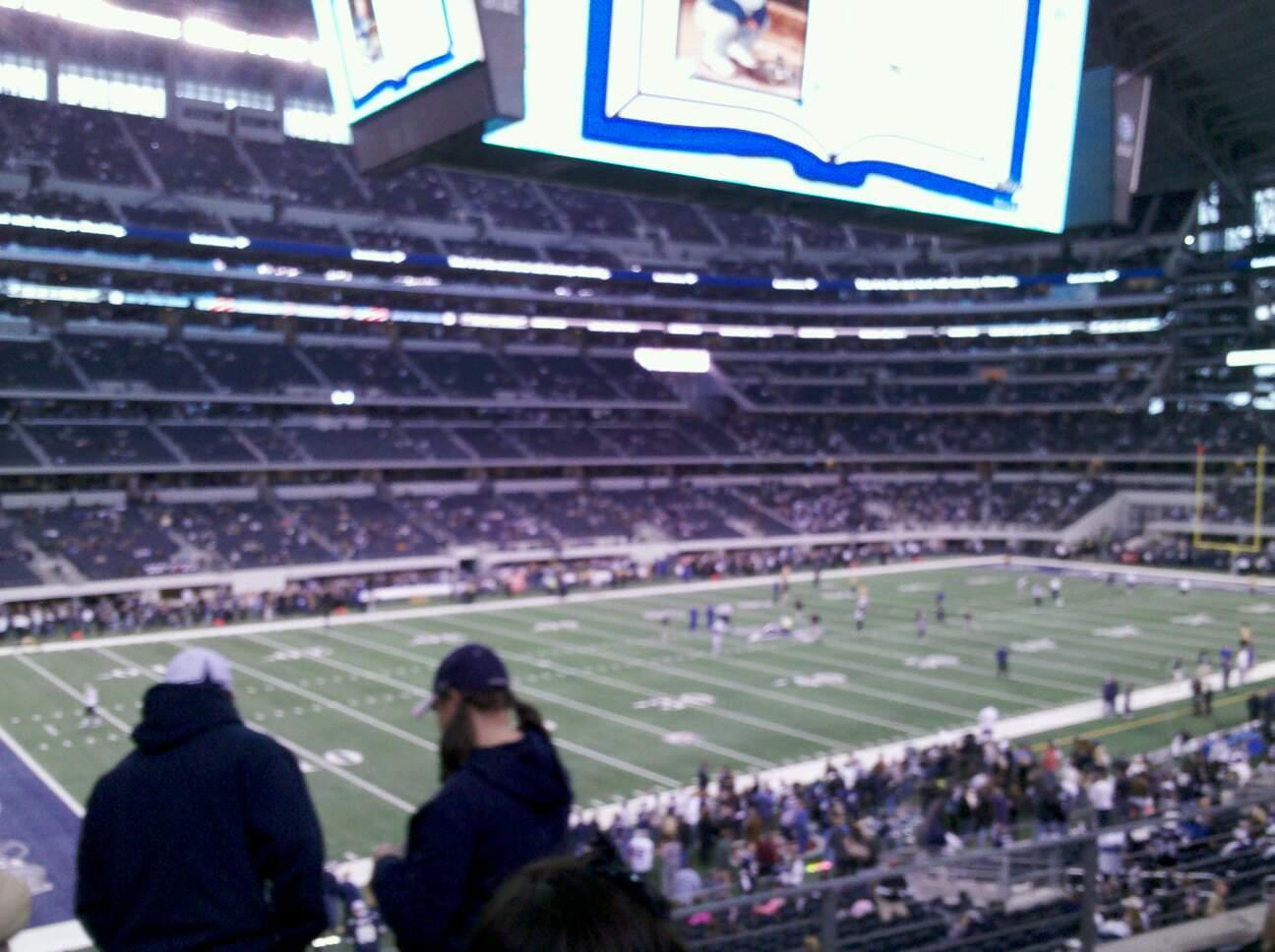 AT&T Stadium Secção C238 Fila 13 Lugar 1