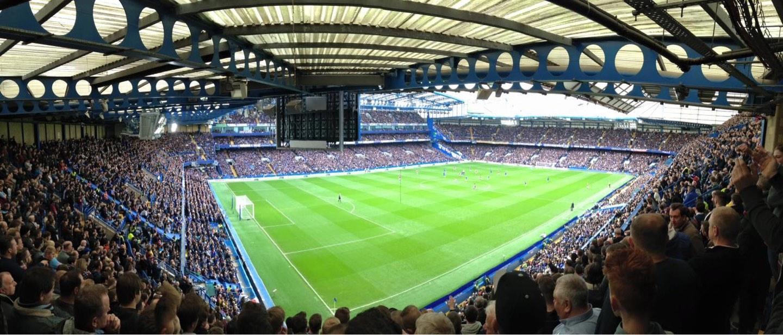 Stamford Bridge Secção Shed End Upper 1 Fila 20 Lugar 20