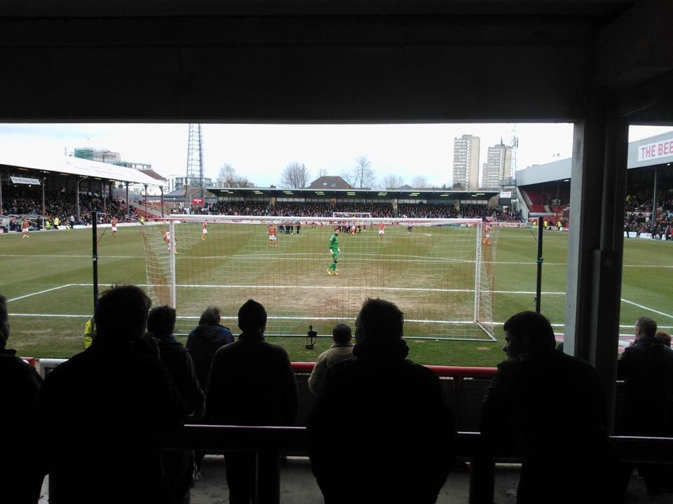 Griffin Park Secção Brook Road Terrace