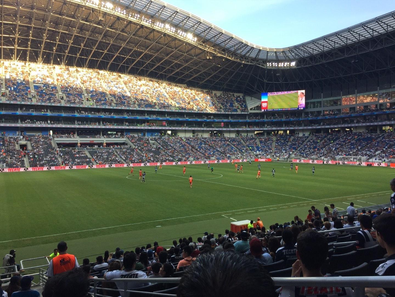Estadio BBVA Secção 101 Fila P Lugar 1