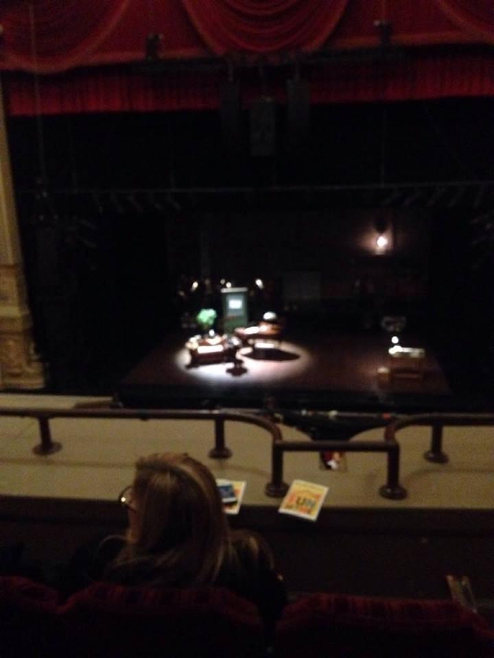 James M. Nederlander Theatre Secção LOGE C Fila C Lugar 310