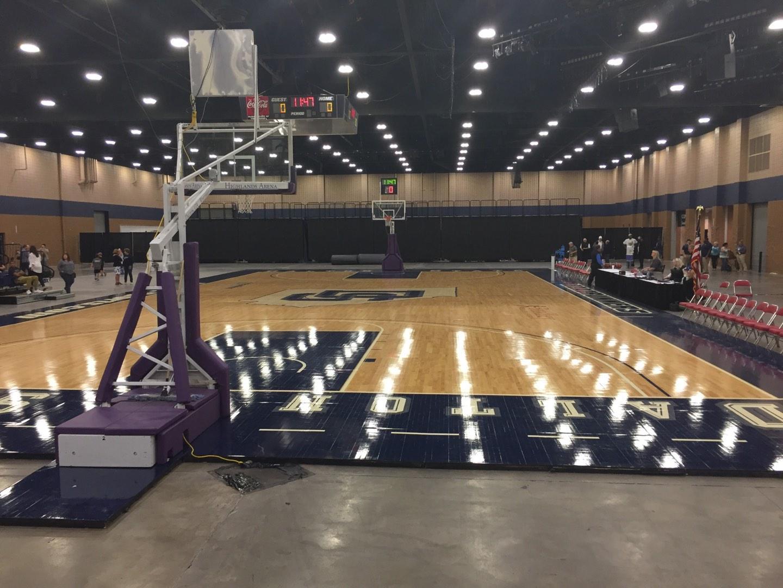 Mashburn Arena Secção 1 Fila DD Lugar 10