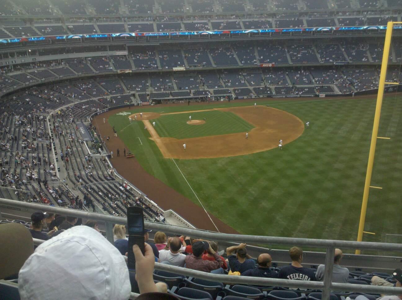 Yankee Stadium Secção 408 Fila 2 Lugar 6