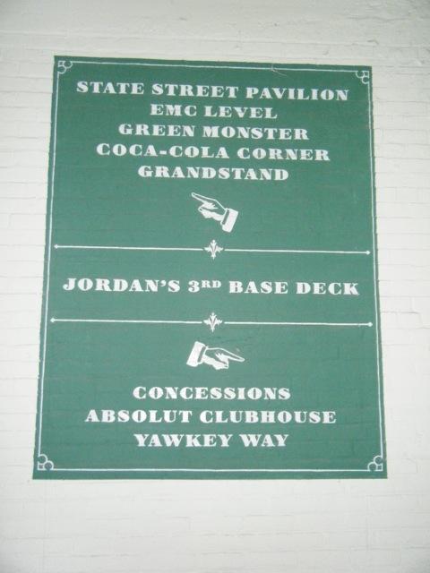 Fenway Park Secção 3rd Base Deck