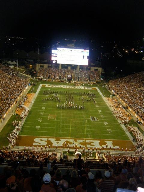 Texas Memorial Stadium Secção 116