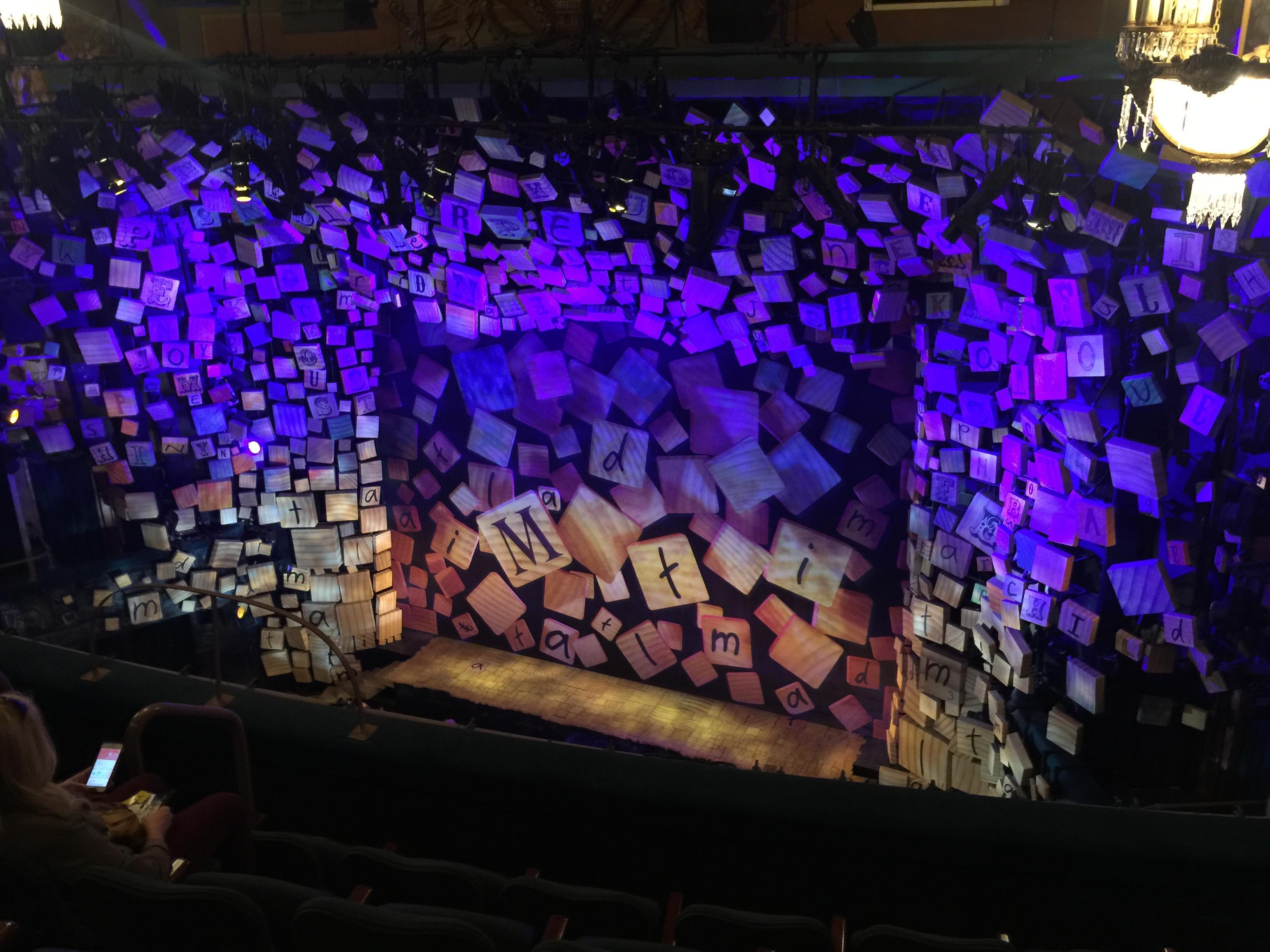 Shubert Theatre Secção Balcony R Fila E Lugar 12