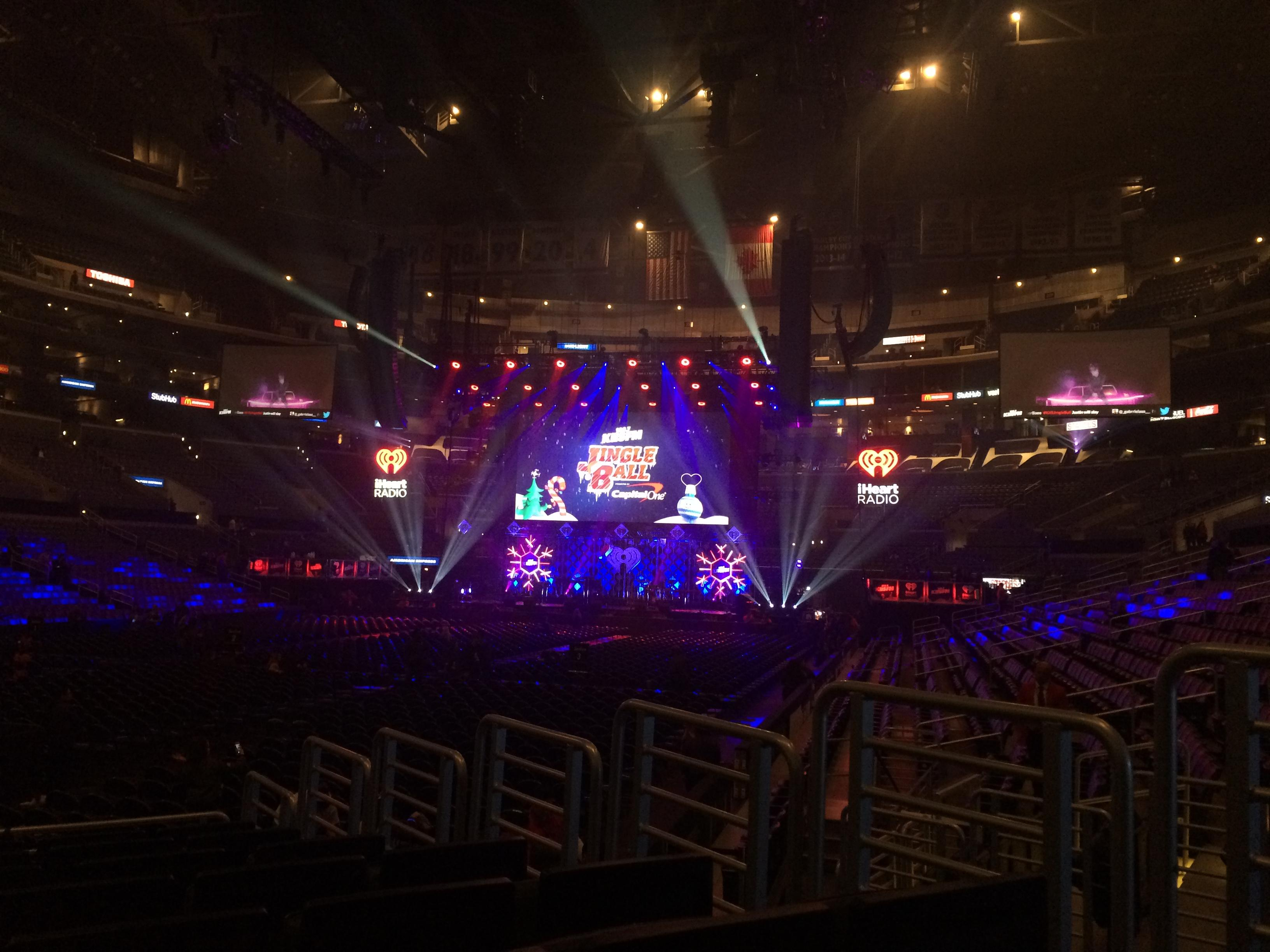 Staples Center Secção 105 Fila 10 Lugar 4