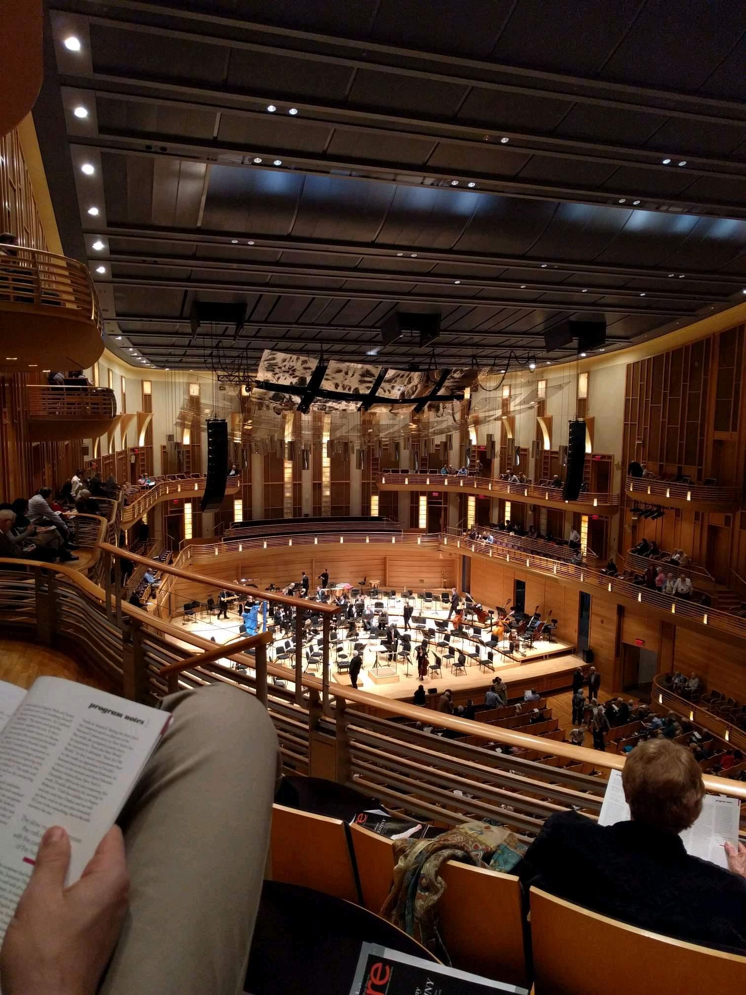 The Music Center at Strathmore Secção Grand Tier Left Fila C Lugar 13