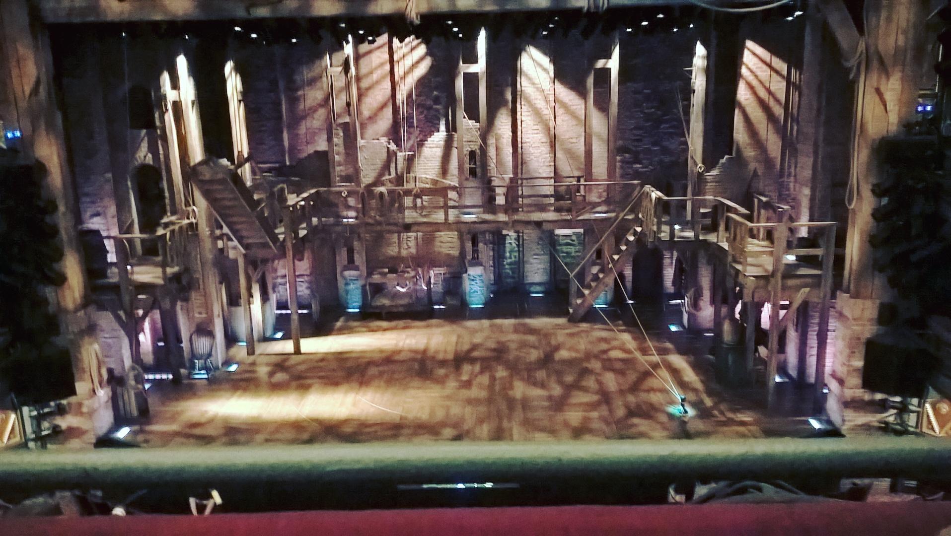 Richard Rodgers Theatre Secção Front Mezzanine C Fila A Lugar 106