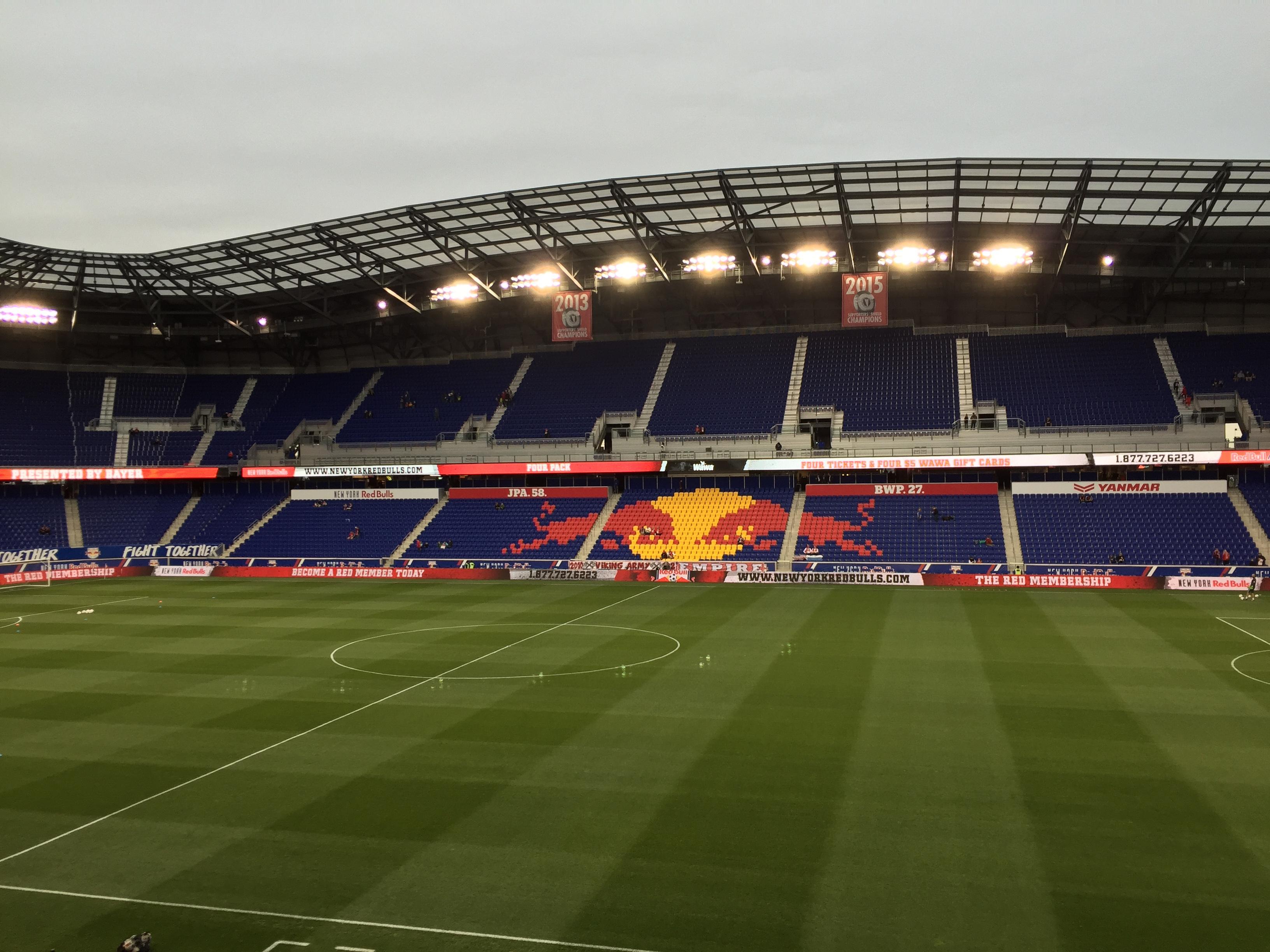 Red Bull Arena (New Jersey) Secção 110 Fila 16 Lugar 15