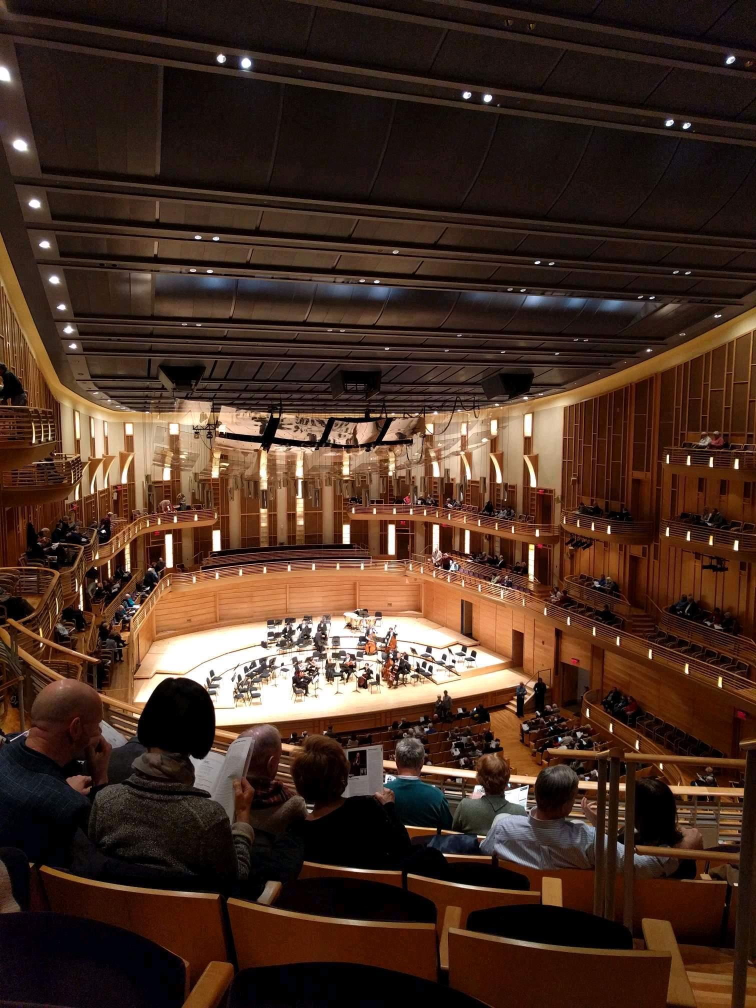 The Music Center at Strathmore Secção Grand Tier Left Fila F Lugar 3