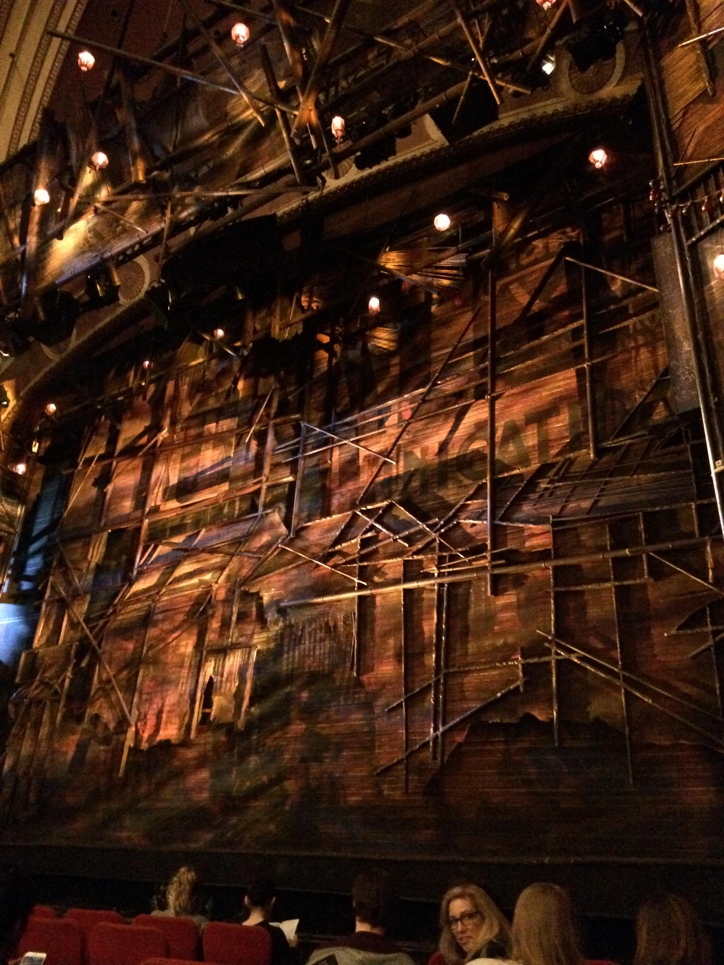 Broadway Theatre - 53rd Street Secção Orchestra R Fila H Lugar 11
