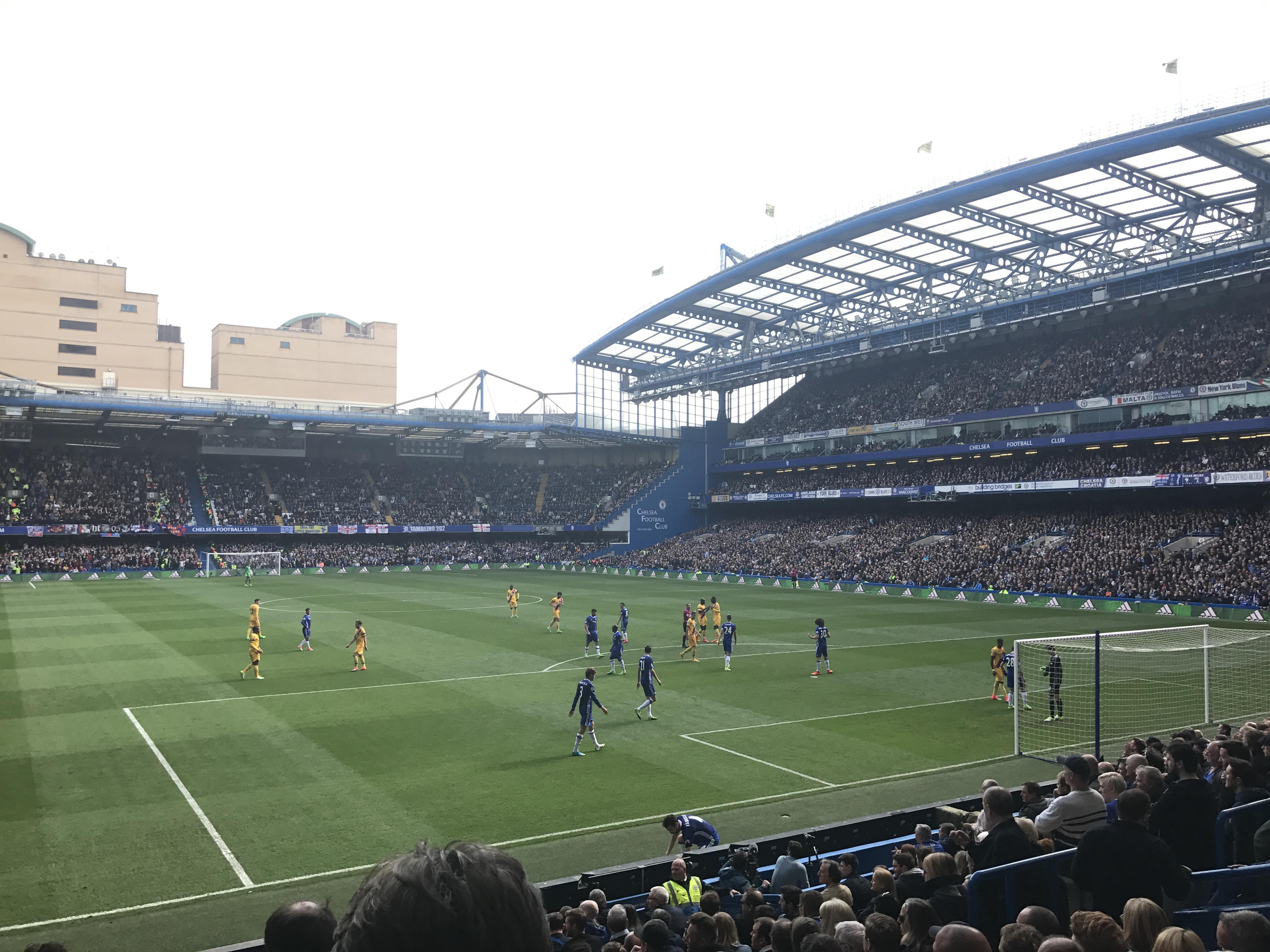 Stamford Bridge Secção Matthew Harding Lower 14 Fila S Lugar 131