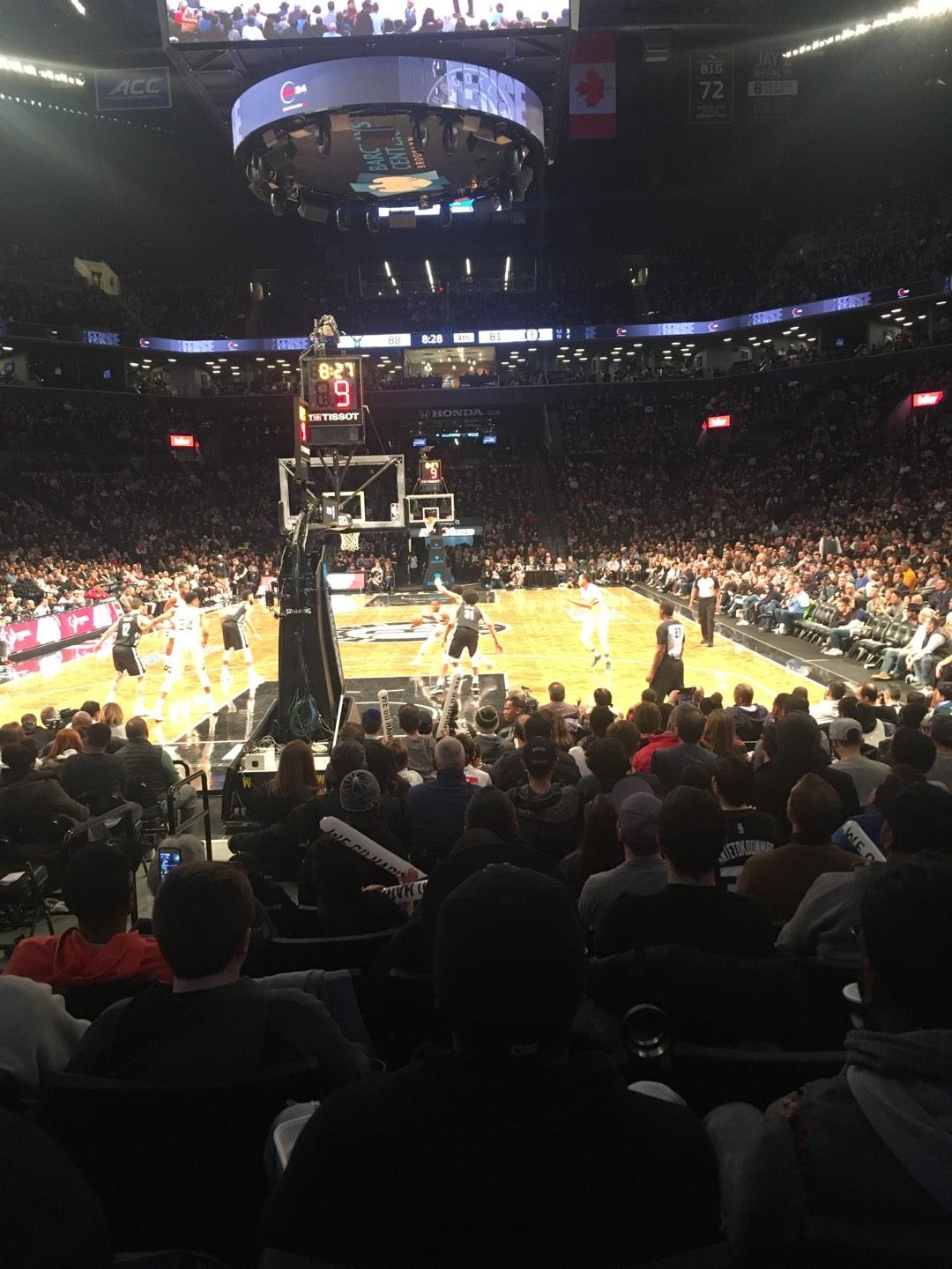 Barclays Center Secção 31 Fila 7 Lugar 10