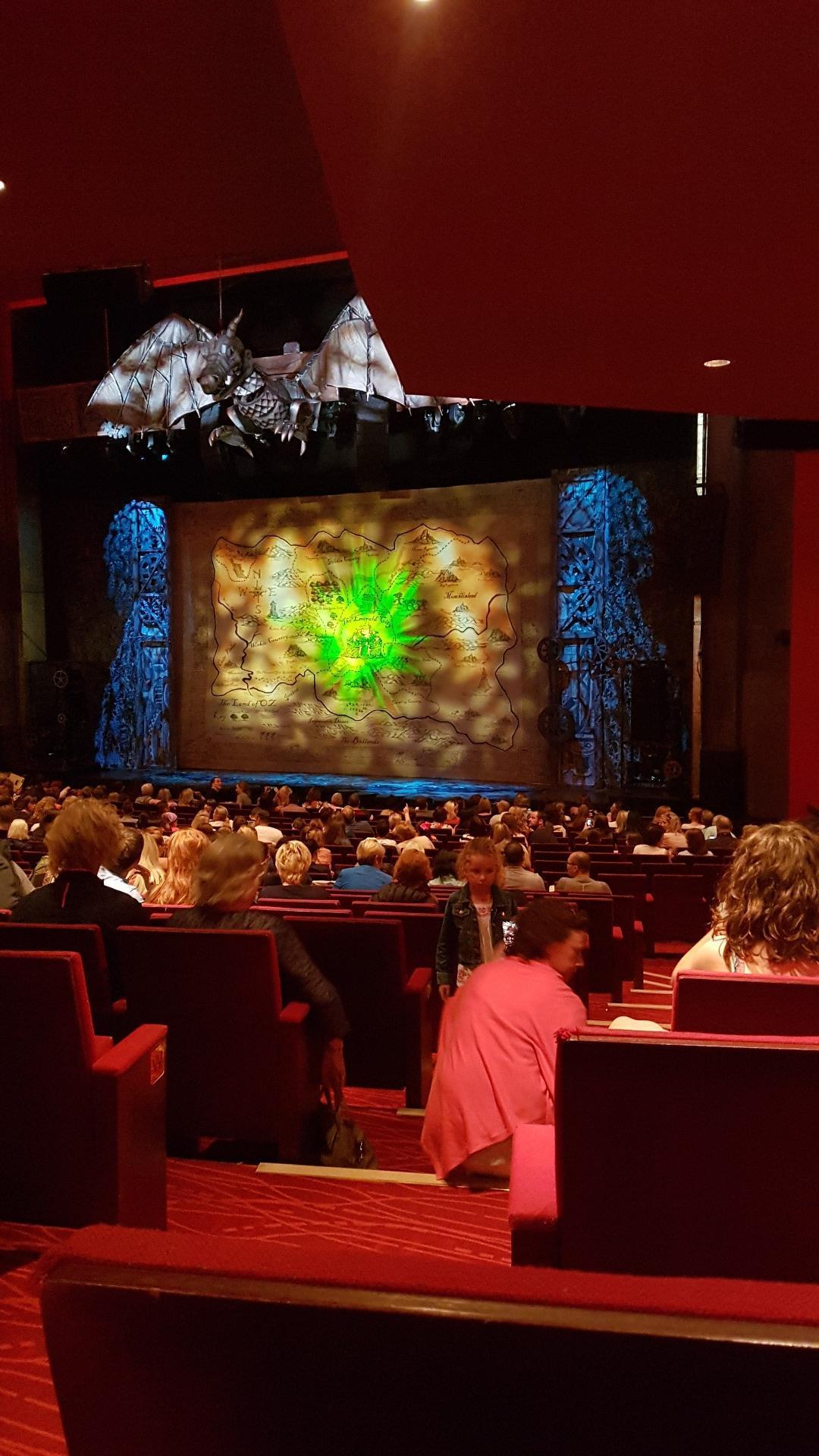 Bord Gáis Energy Theatre Secção Stallls Fila U Lugar 44