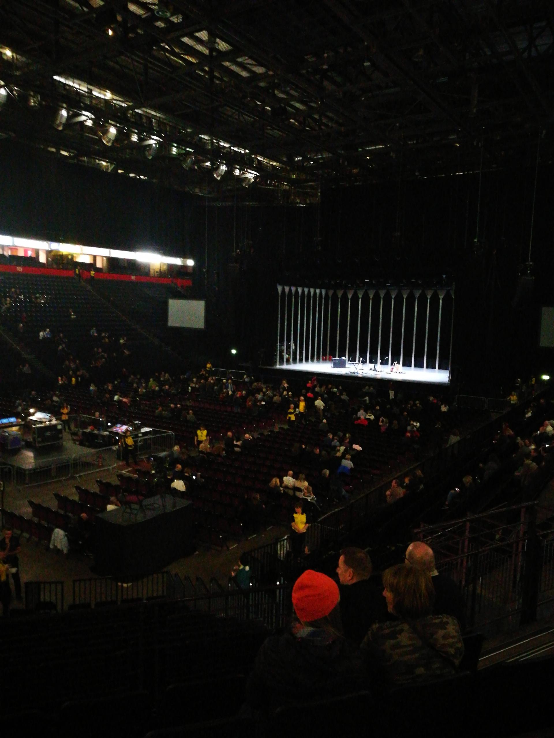 Manchester arena Secção 111 Fila Q Lugar 10