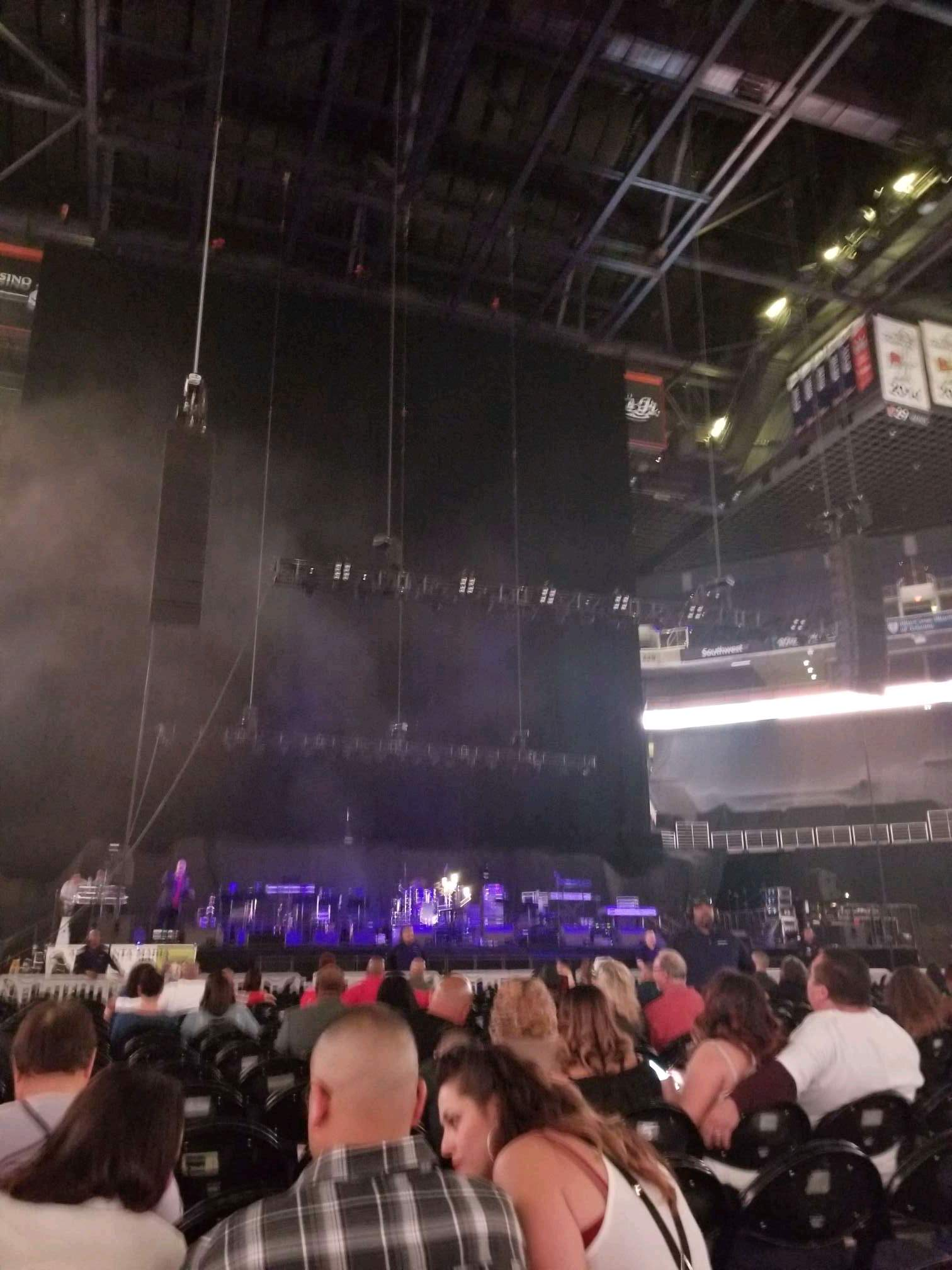 Talking Stick Resort Arena Secção C Fila 19 Lugar 8