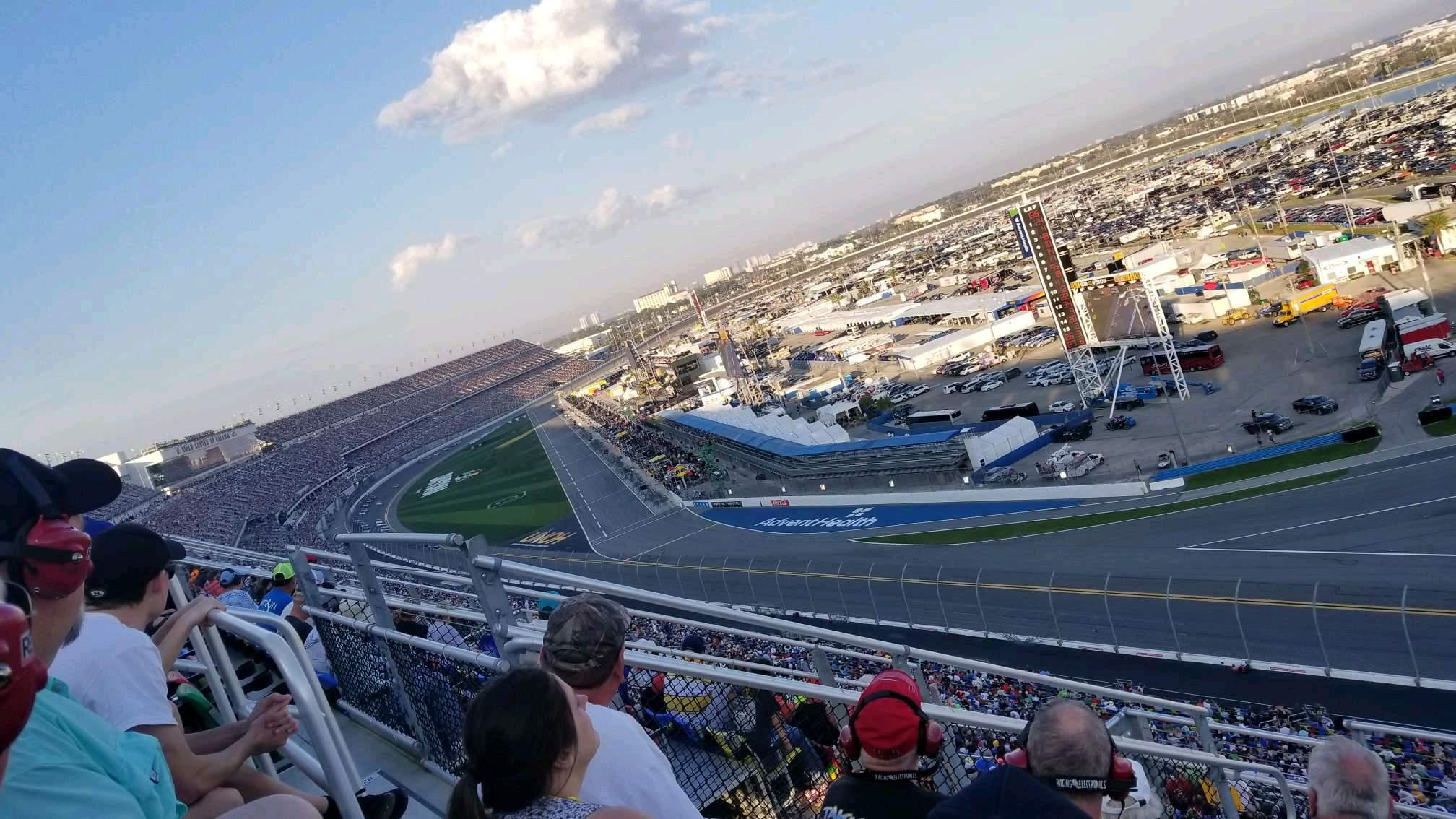 Daytona International Speedway Secção 489 Fila 29 Lugar 12