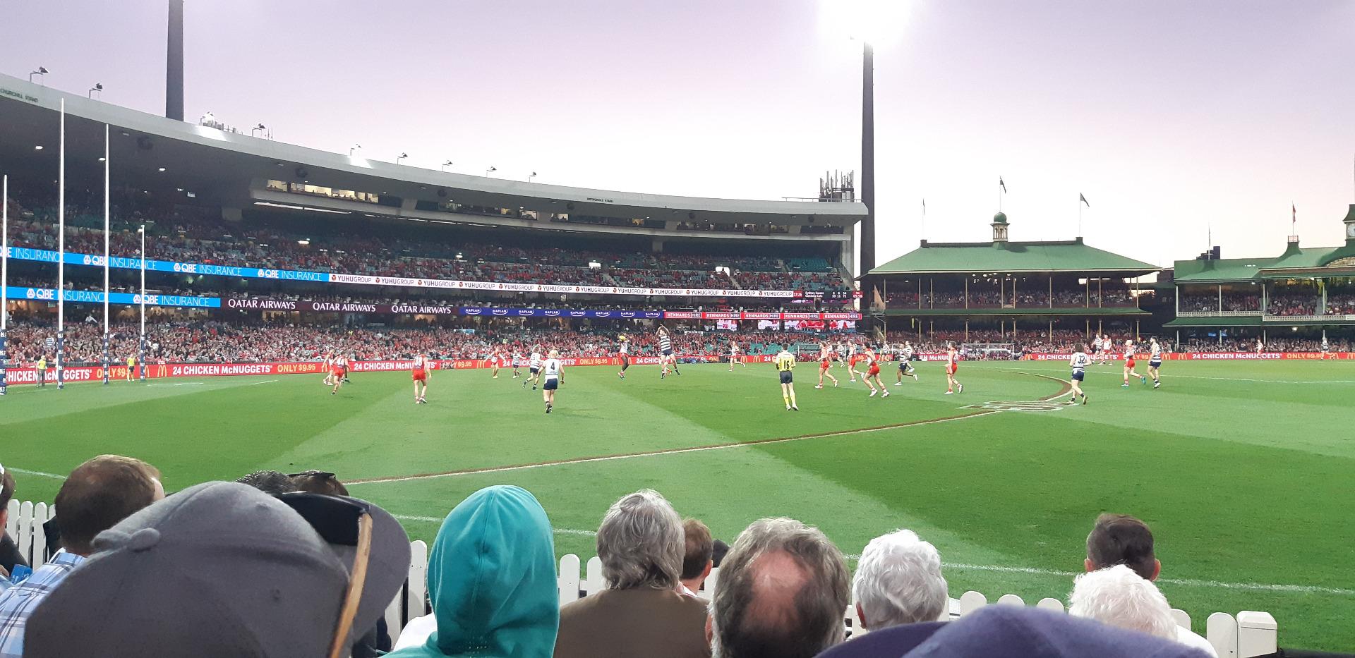 Sydney Cricket Ground Secção 12 Fila E Lugar 1