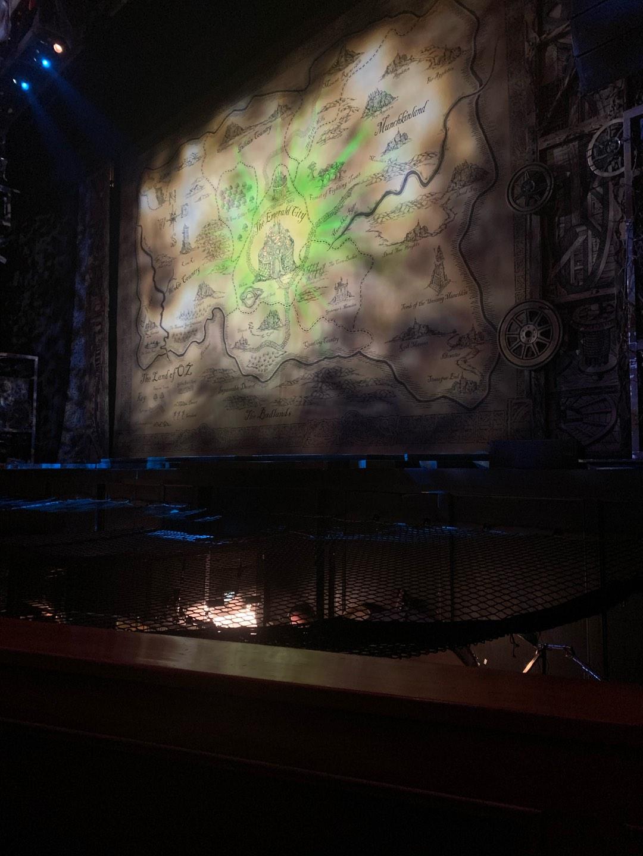 Fox Theatre (Atlanta) Secção Orchestra RC Fila A Lugar 70