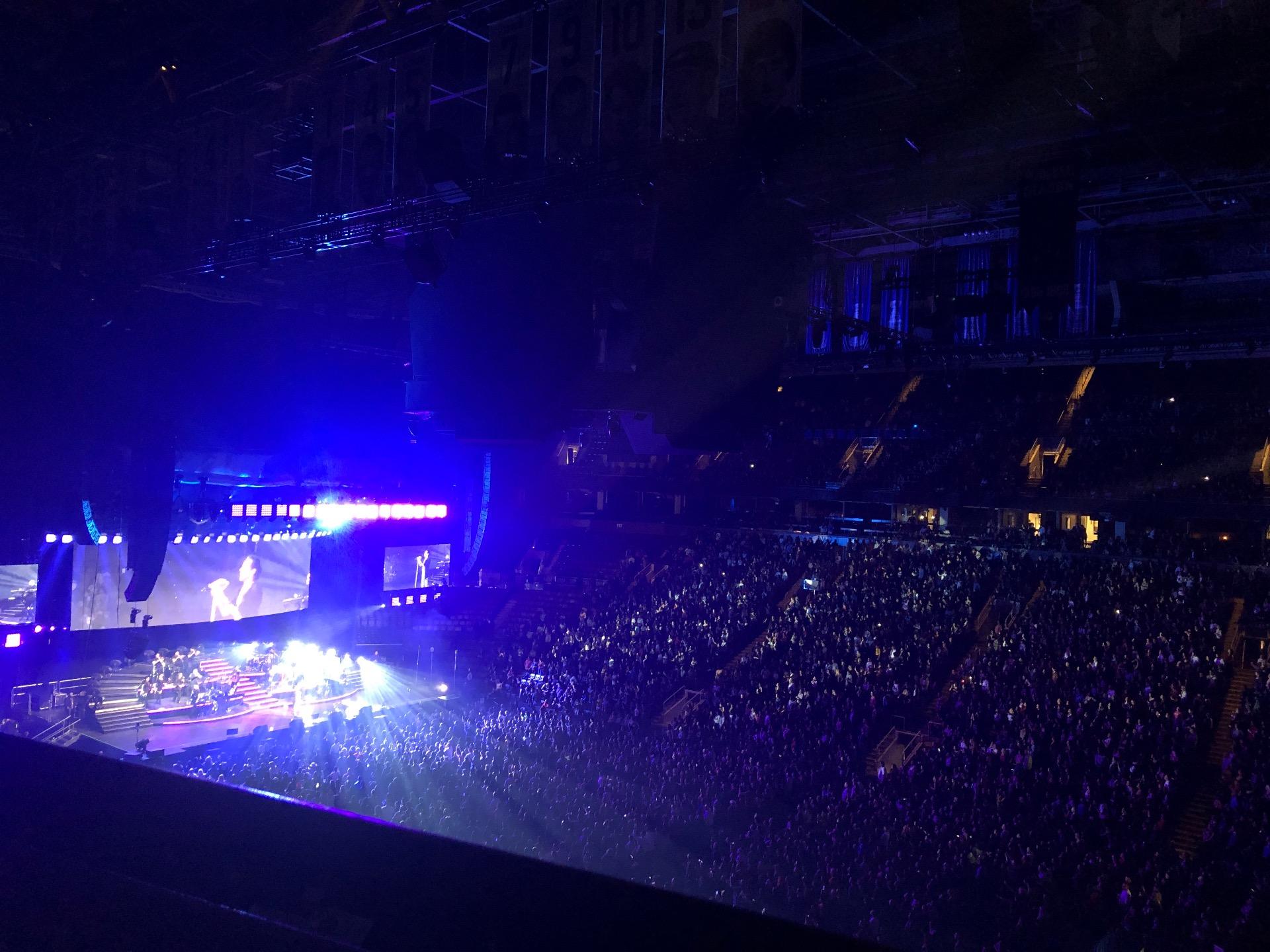 Scotiabank Arena Secção 307 Fila 3 Lugar 4